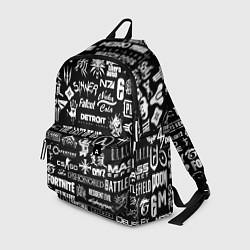 Городской рюкзак с принтом Истинный геймер, цвет: 3D, артикул: 10171055705601 — фото 1