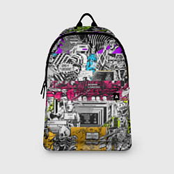 Рюкзак Watch Dogs: Pattern цвета 3D-принт — фото 2