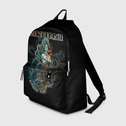 Рюкзак Meshuggah: Violent Sleep цвета 3D — фото 1