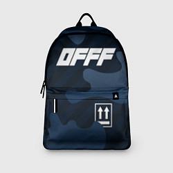 Рюкзак Off-White цвета 3D-принт — фото 2
