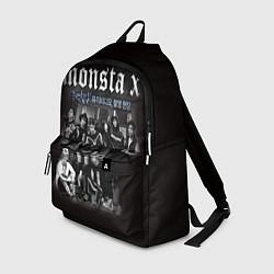 Рюкзак Monsta X цвета 3D-принт — фото 1