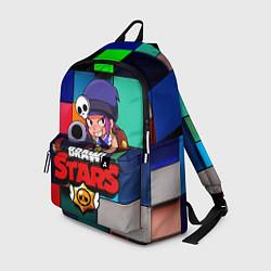 Рюкзак Brawl Stars - Penny цвета 3D — фото 1