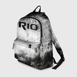 Рюкзак KIA RIO цвета 3D-принт — фото 1