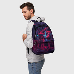Рюкзак UNDERTALE цвета 3D-принт — фото 2