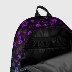 Рюкзак RAINBOW SIX SIEGE NEON цвета 3D-принт — фото 2