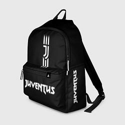 Рюкзак JUVENTUS BLACK WHITE цвета 3D — фото 1