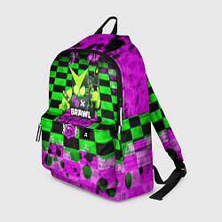 Рюкзак BRAWL STARS:8 BIT VIRUS цвета 3D — фото 1
