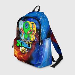 Городской рюкзак с принтом BRAWL STARS LEON SKINS, цвет: 3D, артикул: 10222343705601 — фото 1