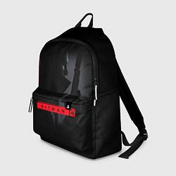 Рюкзак HITMAN 3 цвета 3D-принт — фото 1