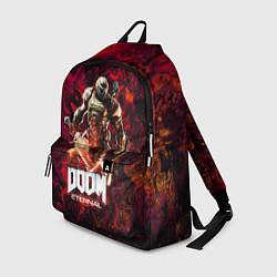 Рюкзак Doom Eternal Дум Этернал цвета 3D-принт — фото 1