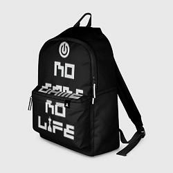 Рюкзак NO GAME NO LIFE цвета 3D-принт — фото 1