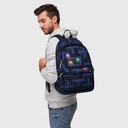 Рюкзак Pacman цвета 3D-принт — фото 2