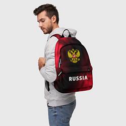Рюкзак RUSSIA РОССИЯ цвета 3D-принт — фото 2