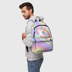 Рюкзак ЕДИНОРОГ цвета 3D-принт — фото 2