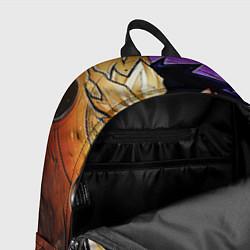 Рюкзак Саске и Наруто цвета 3D-принт — фото 2
