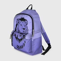 Рюкзак Царь зверей цвета 3D-принт — фото 1