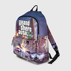 Рюкзак ЭКШЕН Grand Theft Auto V цвета 3D-принт — фото 1