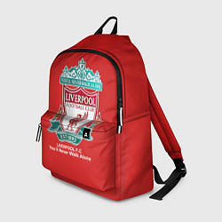 Рюкзак Liverpool цвета 3D-принт — фото 1