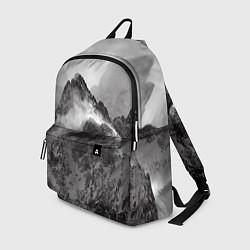 Рюкзак Горы цвета 3D-принт — фото 1