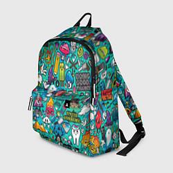 Рюкзак Стикербомбинг цвета 3D — фото 1