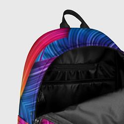 Рюкзак Абстракция цвета цвета 3D — фото 2