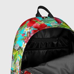 Рюкзак Тропический мир цвета 3D-принт — фото 2