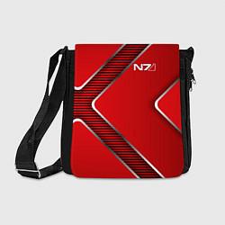Сумка на плечо Mass Effect N7 цвета 3D-принт — фото 1