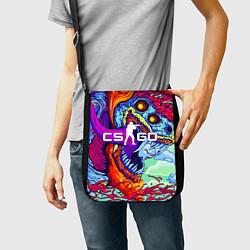 Сумка на плечо CS:GO цвета 3D-принт — фото 2