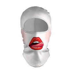Балаклава Девушка цвета 3D-белый — фото 1