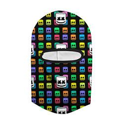 Балаклава Marshmello Game цвета 3D-черный — фото 2
