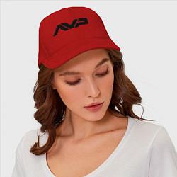 Бейсболка AVP: White Style цвета красный — фото 2