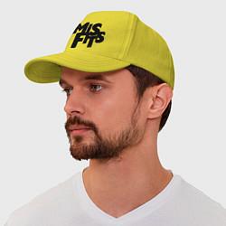 Бейсболка Misfits цвета желтый — фото 1