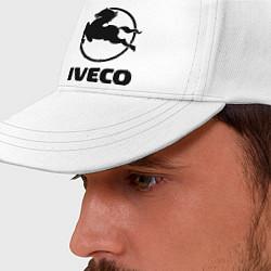 Бейсболка Iveco цвета белый — фото 2