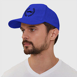 Бейсболка Win Moustaches цвета синий — фото 1