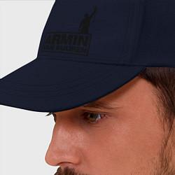 Бейсболка Armin van buuren цвета тёмно-синий — фото 2
