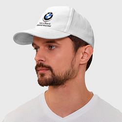 Бейсболка BMW Driving Machine цвета белый — фото 1