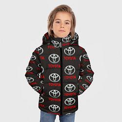 Куртка зимняя для мальчика Toyota цвета 3D-черный — фото 2