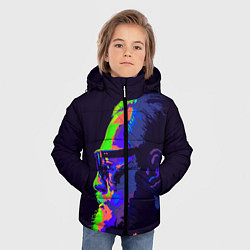 Куртка зимняя для мальчика McGregor Neon цвета 3D-черный — фото 2