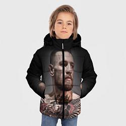 Детская зимняя куртка для мальчика с принтом Conor McGregor, цвет: 3D-черный, артикул: 10102381406063 — фото 2