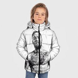 Куртка зимняя для мальчика Конор Макгрегор цвета 3D-черный — фото 2