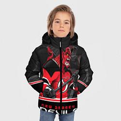 Куртка зимняя для мальчика New Jersey Devils цвета 3D-черный — фото 2