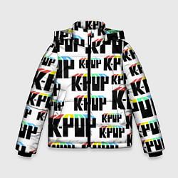 Детская зимняя куртка для мальчика с принтом K-pop Pattern, цвет: 3D-черный, артикул: 10107152606063 — фото 1