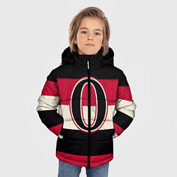 Куртка зимняя для мальчика Ottawa Senators O цвета 3D-черный — фото 2