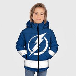 Куртка зимняя для мальчика Tampa Bay Lightning цвета 3D-черный — фото 2