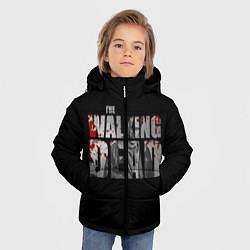 Куртка зимняя для мальчика The Walking Dead: RIck цвета 3D-черный — фото 2