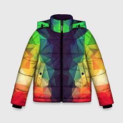 Куртка зимняя для мальчика Grazy Poly VPPDGryphon цвета 3D-черный — фото 1
