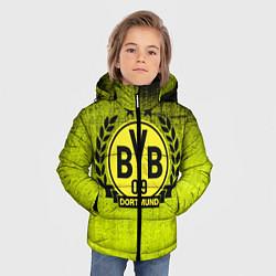 Куртка зимняя для мальчика Borussia5 цвета 3D-черный — фото 2