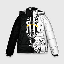 Куртка зимняя для мальчика Juventus4 цвета 3D-черный — фото 1