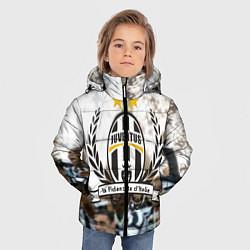 Куртка зимняя для мальчика Juventus5 цвета 3D-черный — фото 2