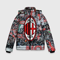 Куртка зимняя для мальчика Milan FC цвета 3D-черный — фото 1